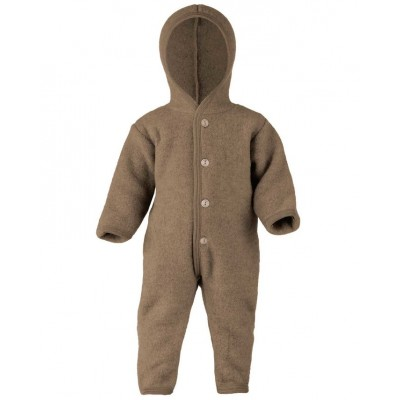 Engel Natur - 100% wol overall - Walnoot