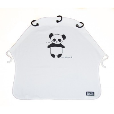 Kurtis Baby Peace - Panda Black & White