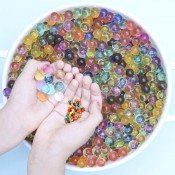 No Nasties Kids Water Beads - Water parels - regenboog