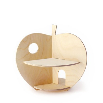 Rock & Pebble - Houten Poppenhuis - Apple