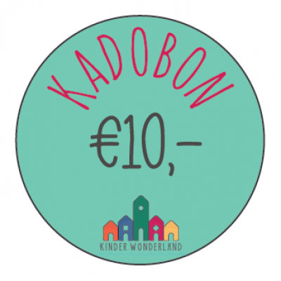 Kadobon Kinder Wonderland t.w.v. €10,- €25,- €50,- of €100,-
