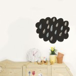 Chispum Muursticker - Cloud Blackboard