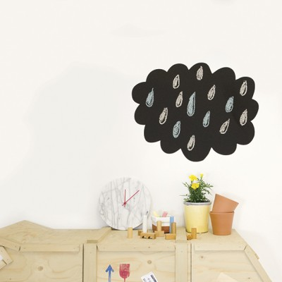 "Chispum Muursticker - ""Cloud Blackboard"""