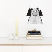 Coco Lapine Design - Poster Bear