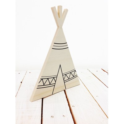 Dots Lifestyle - Houten Tipi