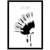 "Puurrr - Poster A3 ""Wild at Heart"""