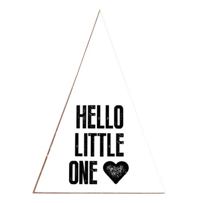 "Puurrr - Houten tipi ""Hello Little One"""